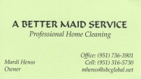 A Better Maid Service