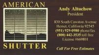 American Shutter