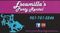 Escamillas Party Rentals