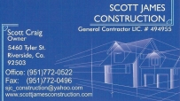 Scott James Construction